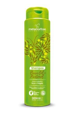 metamorfose baru oil d pantenol shampoo fortalecedor 300ml