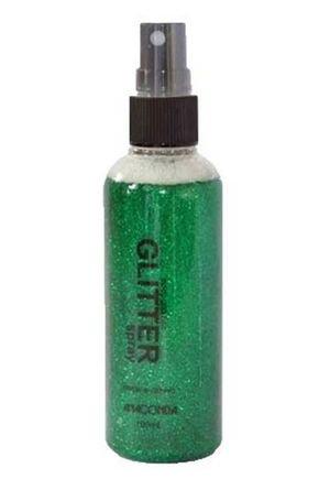 glitter spray verde1