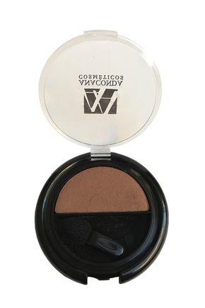 sombra compacta individual chocolate