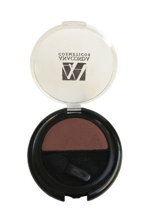 sombra compacta individual marrom