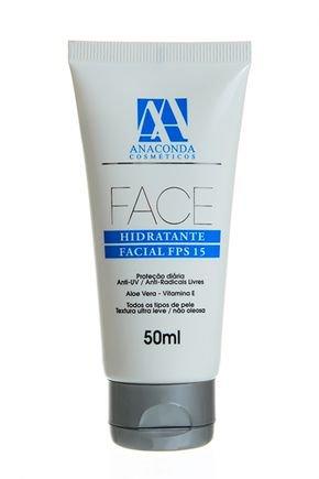 anaconda hidratante facial face fps 15 50g
