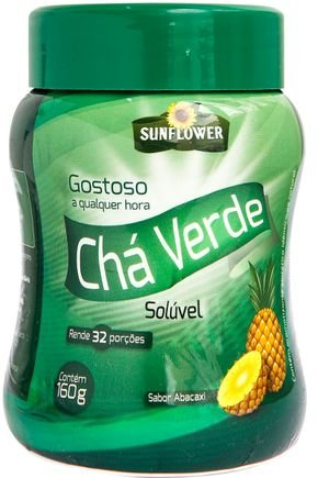 cha verde abacaxi