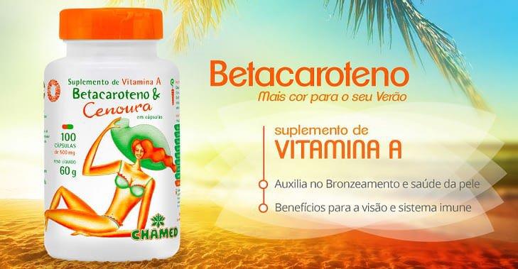 ch 4022 chamel capsulas betacaroteno 500mg 100 cp