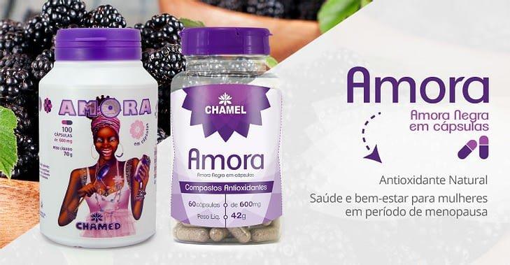 amora negra em capsulas antioxidante menopausa