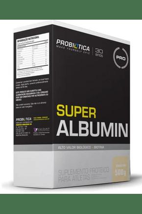 01 probiotica super albumina baunilha 500g