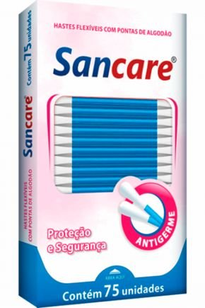 sanfarma hastes flexiveis caixa 75 und