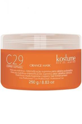 km 26479 c29 copper apparel orange mask 250g