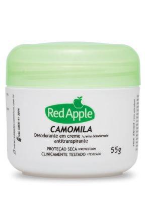 ra1000134 red apple desodorante em creme antitransp camomila 55g ref 80465
