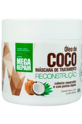mascara oleo de coco