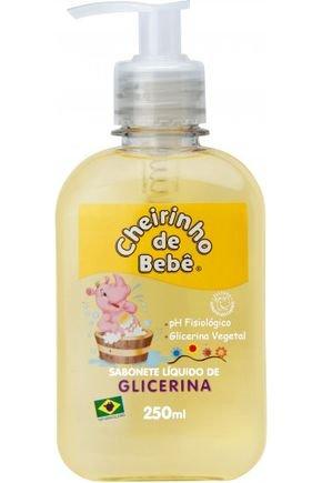 cb25883 cheirinho de bebe sabonete liquido glicerinado 250ml ref 1849