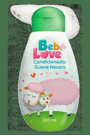 condicionador bebe love suave neutro