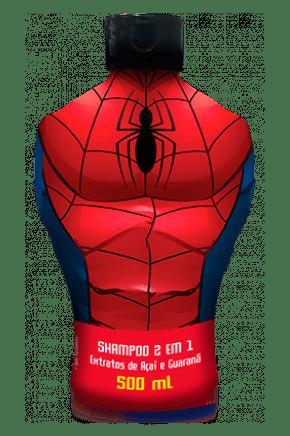 shampoo 2 em 1 spider man 500ml