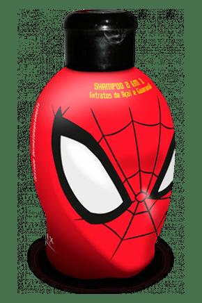 shampoo 2 em 1 spider man
