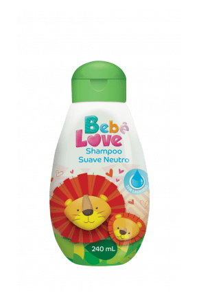 shampoo bebe love suave neutro 240ml