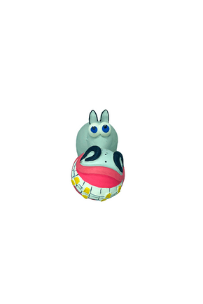 549 brinquedo latex mordedor burrico sorriso para cachorros caes