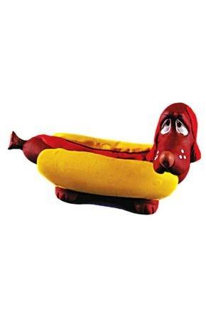 923 brinquedo para cachorro latex hot dog latoy