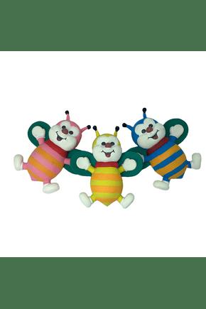 1100 brinquedo abelha colorido mordedor vinil
