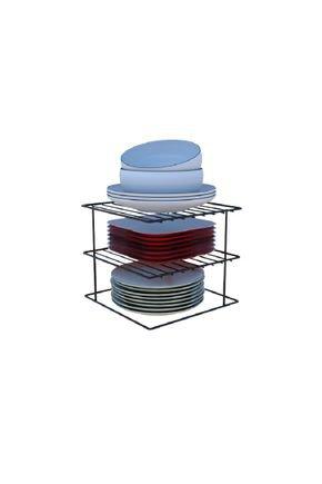organizador de pratos quadrado
