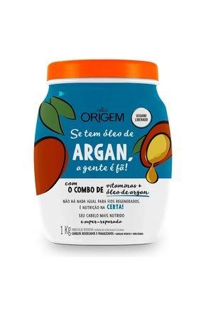 creme hidratante capilar argan 1kg origem