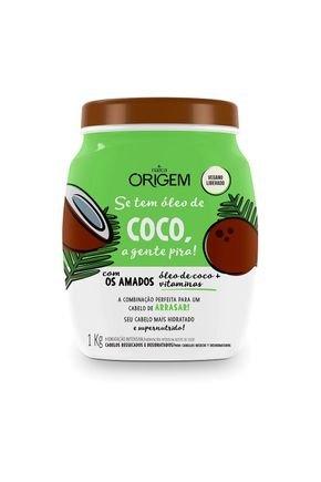 creme hidratante capilar coco 1kg origem
