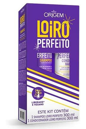 kit sh loiro perfeito 300ml origem