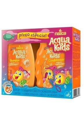 kit sh cond acqua kids cachos 250ml origem