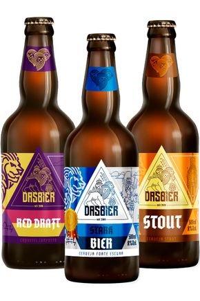 kit 3 das bier 3 cervejas