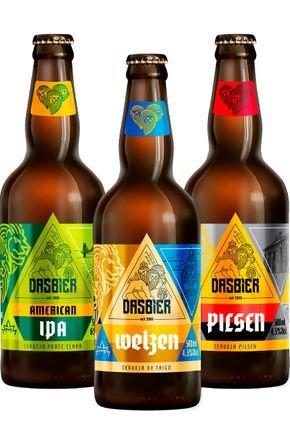 kit 8 das bier 3 cervejas