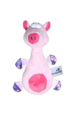 brinquedo jolitex home pet pelucia porco rosa 1942569
